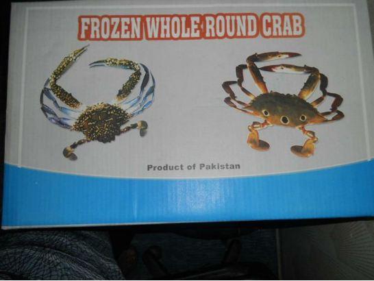 frozen Blue Crab for sale